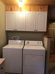 Laundry room inside Bathroom 1