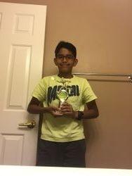 Matt 2nd place