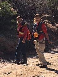 NCSAR team Roger & Debra