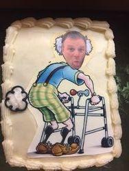 Old Fart Birthday cake