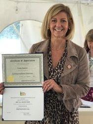 Cindy Heaton, Communications Award (Chairman)