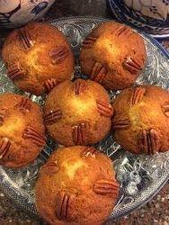 Banana Pecan Muffins