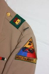 2nd Amd. Div. Lieutenant, Khaki Dress: