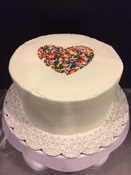 "Bridal ""Sprinkle"" Cake"