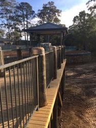 Rails for Walkway Macksville