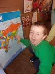 Exploring the World Map - China!