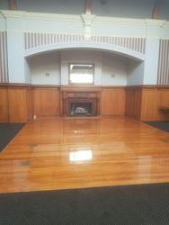 Gloss polyurethane finish on dance floor. Shaw's Floor Sanding. 0272319335
