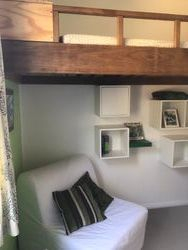 Elevated Bunk Bed