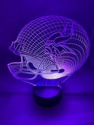 Large 3d lighted Nightlight with Base