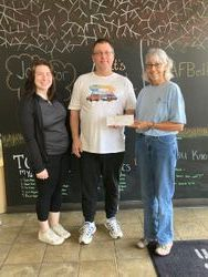 Anytime Fitness donation