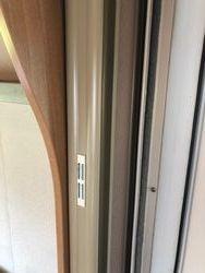 bedroom door stored