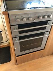 gas/electric cooker front