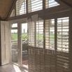 Full Height Bespoke Interior Shutter designed by CP Shutters