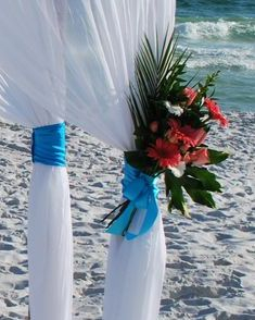 Beach wedding, Fort Walton Beach, FL