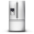 2018 3 door stainless steel refrigerator houston champion appliances HTX texas