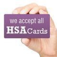 We take HSA insurance cards