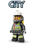 lego city, police, fire, cop, sherrif, cars, nurse, professional, station, truct, space, sea,