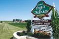 Field of Dreams entrance sign