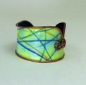 Geo Design Watercolor Cuff