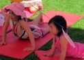 Little Yogi Students enjoy Namaste' and Play in a fun-filled environment!