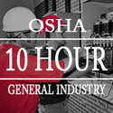 OSHA 10 Hours General industry