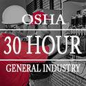 OSHA 30 Hours General industry
