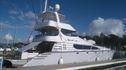 Luxury charter fishing boat