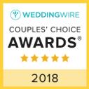 A weddingwire.com Couple's Choice Award winner