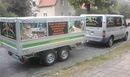 Kleintransporte, Transporte mit Kippanhänger, Anhänger mieten