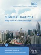 Cover image of IPCC report on the Mitigation of Climate Change