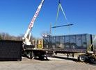 LED msg board unload for Tx-Dot
