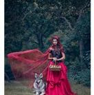 Kami Northern Inuit dog model  little red riding hood