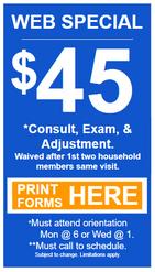 Web discount