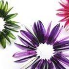 Jewellery. Handmade coloured brooches.