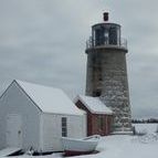 Monhegan Light in the Winter