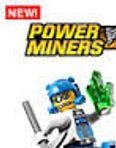 lego power miners - rock monsters, keychanins, key ring,