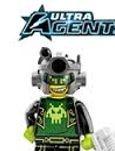 lego ultra agents, mission, hq, drillex,