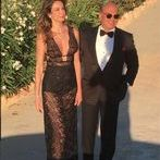 Top Guests at the wedding ceremony of Ana Beatriz Barros, Karim El Siati Greek Wedding