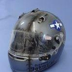 custom race helmet