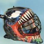 Venom goalie mask