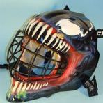 venom goalie helmet