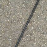 t handle black cane on patio