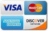visa,master card,american express,discovery