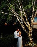 Catch a kiss at our kissing tree.