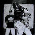 Baseball Drawing, Sports Drawing