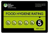 Top 5 Rating food hygiene