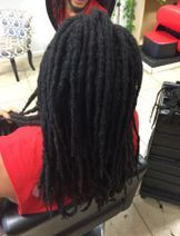 Braids by Bee caters to those who have natural Locs or wants box braids or twist done.