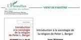 Image du livre: introduction à la sociologie