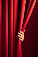 Hiding behind the curtain