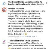 Sweet Blends Music Ensemble Reviews